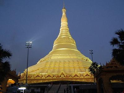 Night View Of Pagoda