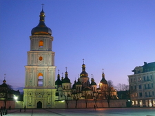 Night View Of Saint Sophia Cathedral