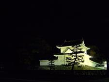 Nijo Castle At Night