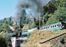NMR Up Train At Kateri Road