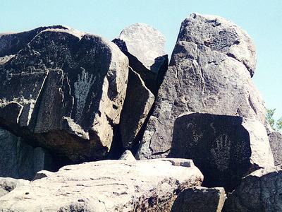NM Three Rivers Petroglyphs