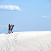 NM White Sands National Monument Visitors