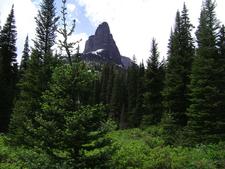 No Name Lake Trail At Glacier - Montana - USA