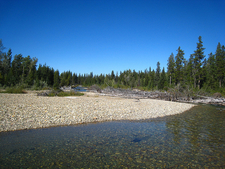 North Fork Belly River Trail - Glacier - Montana - USA