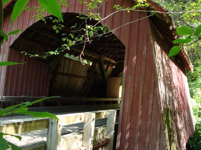 North  Fork  Yachats  Covered  Bridge