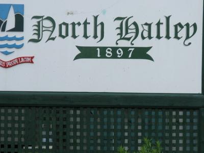 North  Hatley  Sign