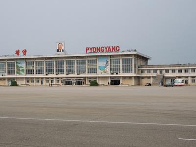 North  Korea   Pyongyang   Sunan  International  Airport