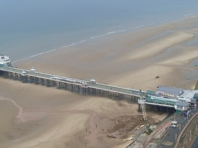 North  Pier From  Blackpool  Tower