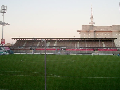 North Stand Front View