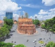 Notre Dame Basilica In Ho Chi Minh City