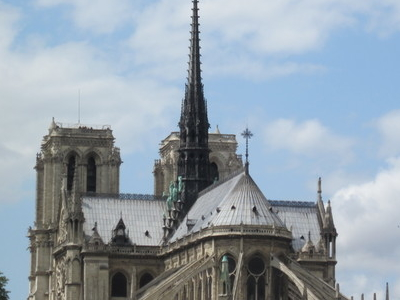 View Of Notre-Dame De Paris From The South