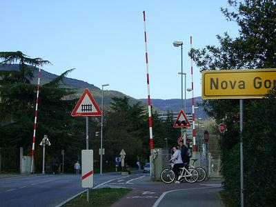 Nova Gorica Name Board