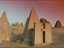 Nubian Pyramids At Nubia - Sudan