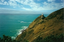 Nugget Point Lighthouse NZ South Island