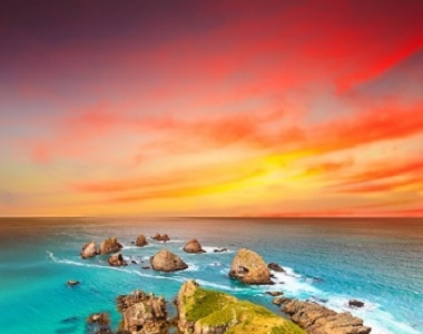 Patagonia South America >> Nugget Point, New Zealand Tourist Information