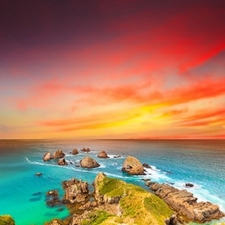 Nugget Point - Otago Coast - South Island NZ