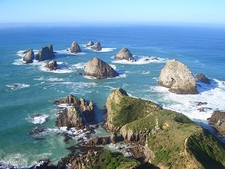 Nuggets @ Nugget Point - Otago Coast - South Island