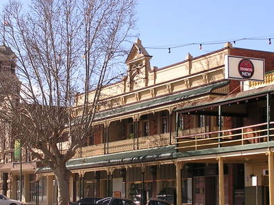 Main Street Of Narrandera