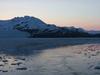 Nassau Fjord At Sunset