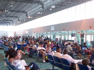 Departures Terminal At Lynden Pindling International Airport