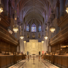 National Cathedral Sanctuary Panorama