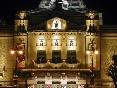 Den Nationale Scene At Night