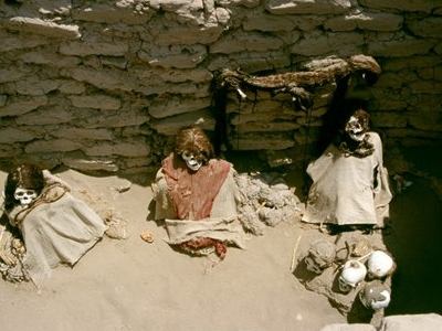 The Tombs Were Built For Family Groups