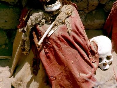 Mummy In The Cemetery Of Chauchilla
