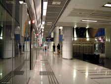 NE10 Potong Pasir MRT Station Platform