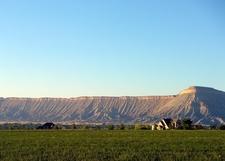 Book Cliffs And Mt. Garfield
