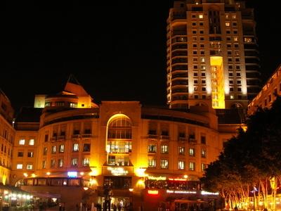Nelson Mandela Square At Night