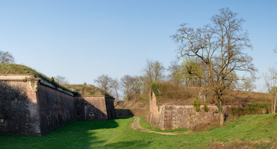 Neuf   Brisach Southeastern Moats And Fortifications Panoramic