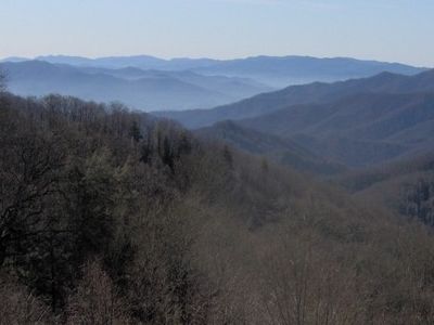 Part Of The Oconaluftee Watershed