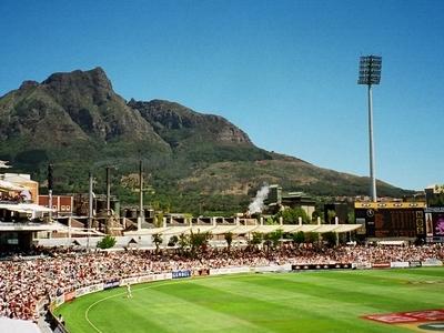 Devil's Peak As Seen From Newlands Cricket Ground
