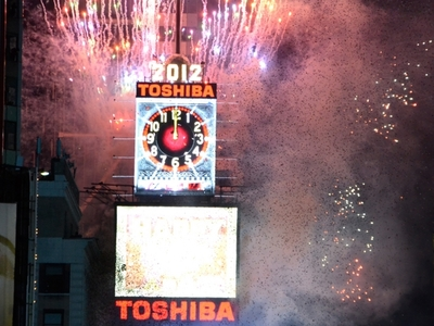 The Toshiba Screens On One Times Square