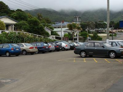 Ngaio Railway Station Car Park