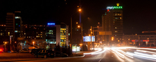 Almaty At Night