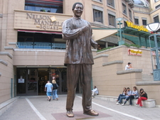 Statue At Nelson Mandela Square