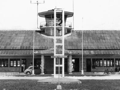 Mokmer Airport In 1961