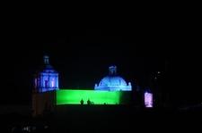 San Francisco Church Was Fully Illuminated