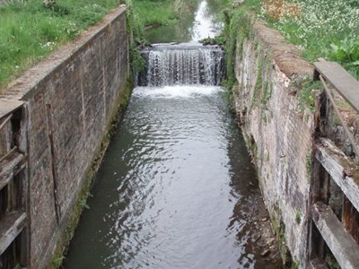 The Disused Canal At Briggate