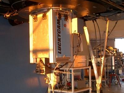 The Interior Of The Telescope