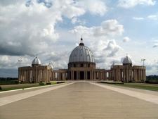 Notre Dame De La Paix Yamoussoukro By Felix Krohn