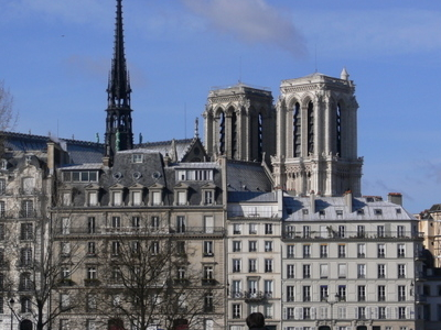 View Of Notre Dame From The Pont Louis-Philippe