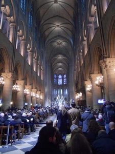 Notre Dame Cathedral Inside View