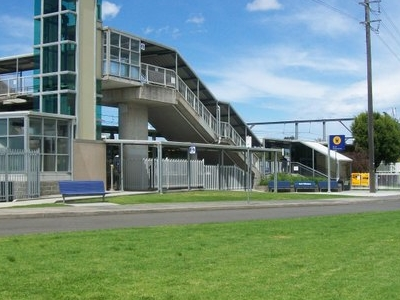 North Wollongong Station Bus Stop