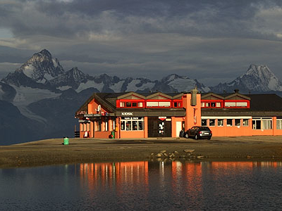 Nufenenpass  Restaurant