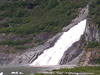 Nugget Falls Entering Mendenhall Lake