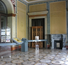 View Of The Interior Of The Museum