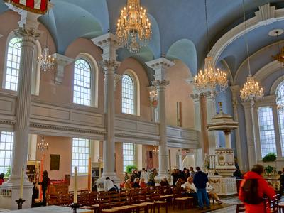 Interior Of St Pauls Chapel